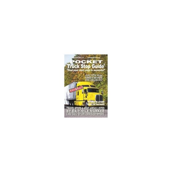 Roadlife publications 788 the pocket truck stop guide