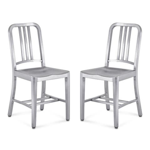 Navy Dining Chair, Set of 2 (One time deal)