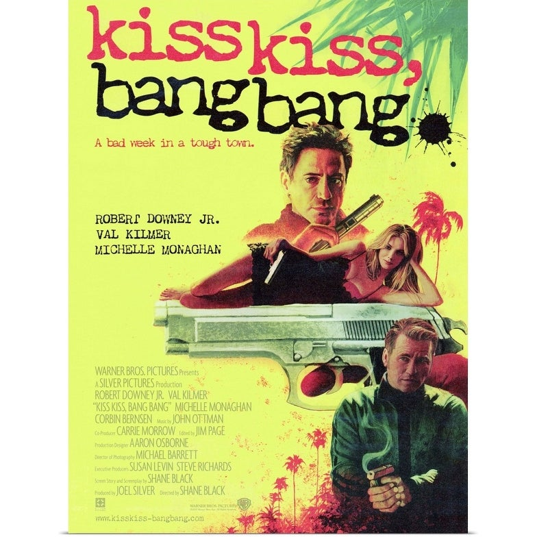"Kiss Kiss, Bang Bang (2005)"" Poster Print - Overstock - 24137148"