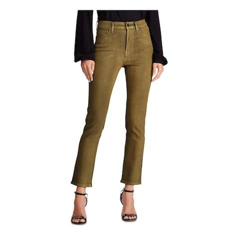 RALPH LAUREN Womens Gold Jeans Size 6