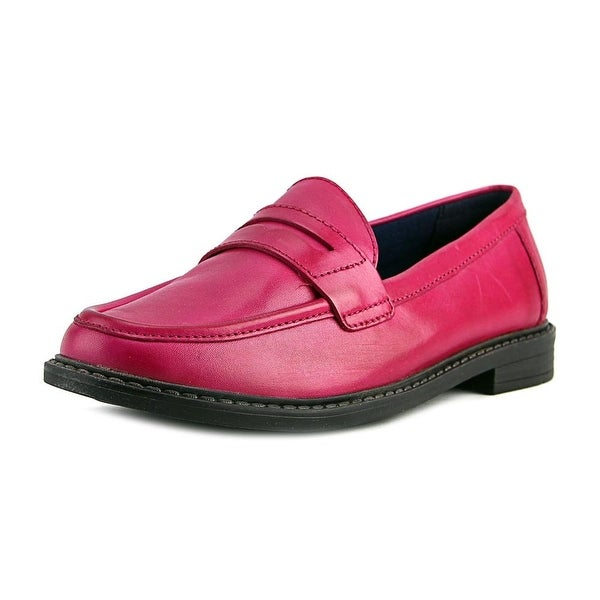 Cole Haan Pinch Campus Penny Women Round Toe Leather Pink Loafer