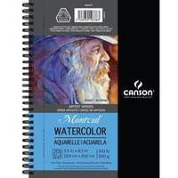 "20 Sheets - Canson Watercolor Pad 5.5""X8.5"""