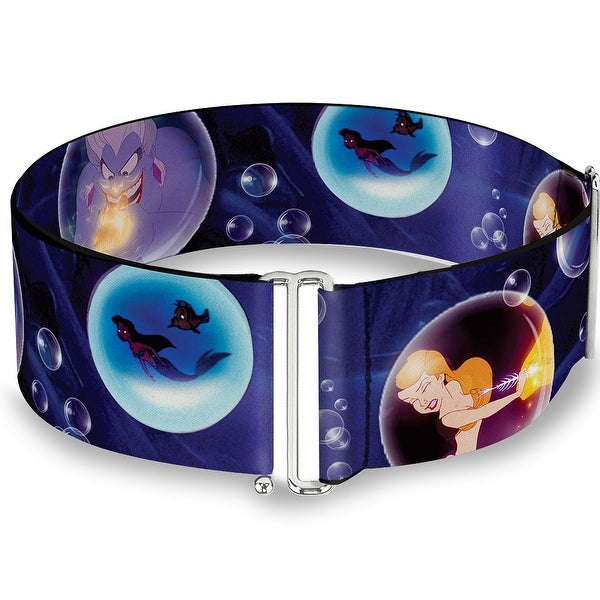 Ursula Poor Unfortunate Souls Scene Bubbles Cinch Waist Belt ONE SIZE