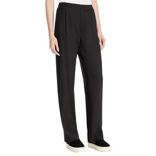 Vince Womens Casual Pants Pleated Chameuse