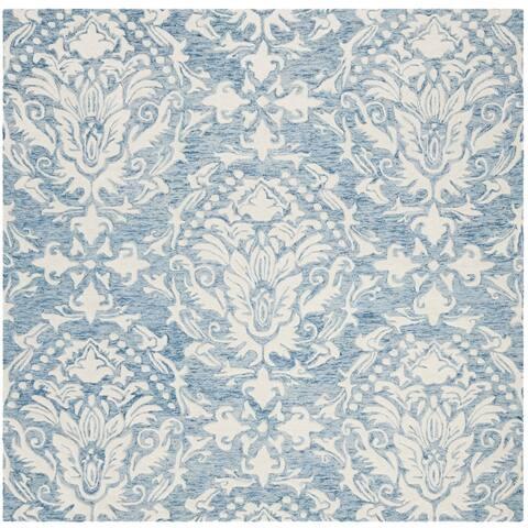 Safavieh Handmade Blossom Lollie Modern Floral Wool Rug