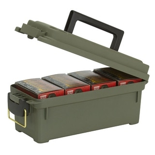 Plano Compact Shot Shell Field Ammo Box O D Green