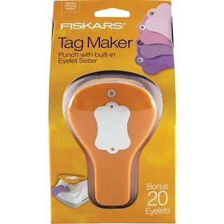 Fiskars Tag Maker Punch-Label - label