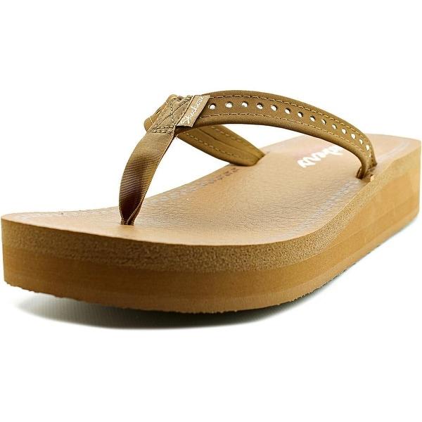 Skechers Vinyasa - Paradise Ahead Women Open Toe Canvas Thong Sandal