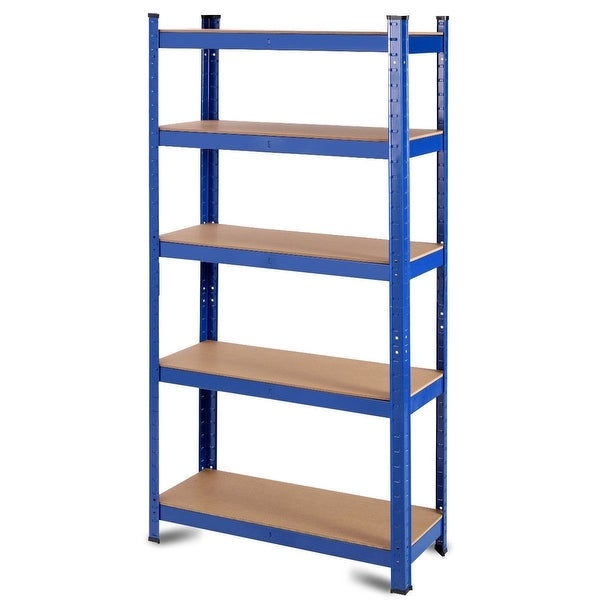 "35.5"" x 71"" Adjustable 5-Layer 2000 lbs Capacity Tool Shelf"