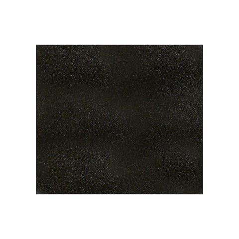 71414 amc cardstock 12x12 glitter black