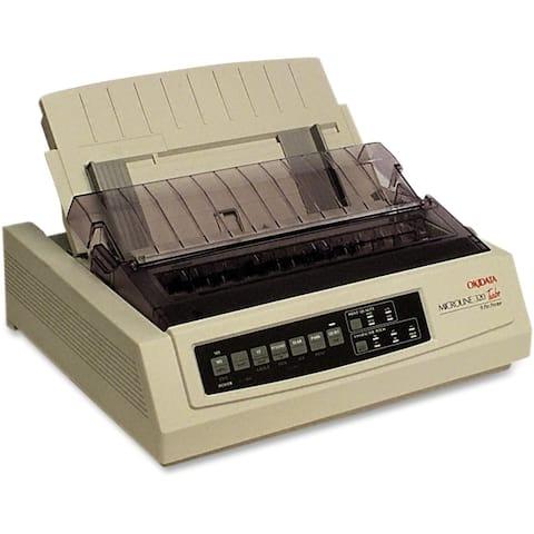 Okidata 91907101 microline 320 turbo - personal - monochrome - dot-matrix - 435 cps(super draft), - White