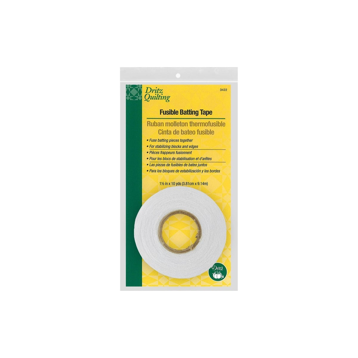 Pellon Easy-Knit Batting /& Seam Tape 1-1//2X10 Yards-White