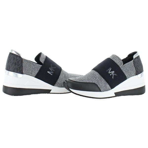 Pedicab Suppose Go out  Shop MICHAEL Michael Kors Womens Felix Trainer Fashion Sneakers Glitter  Wedge - Overstock - 23503470