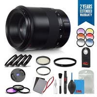 Zeiss Milvus 100mm f/2M ZE Lens for Canon EF - 2096-563 with Cleaning Accessory Kit and 2 Year Extended Warranty