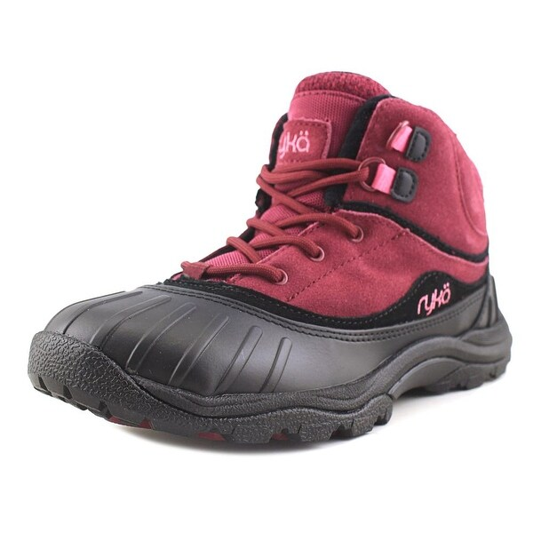 Ryka Mallory Wn/Blk/Pnk Snow Boots
