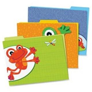FUNky Frogs File Folders Set, 6 Per Pack