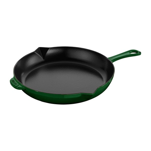 Staub Cast Iron 12-inch Fry Pan. Opens flyout.