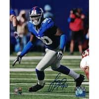 Jason PierrePaul Autographed New York Giants 8x10 Photo vs Redskins