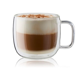 ZWILLING Sorrento Plus 2-pc Double-Wall Glass Cappuccino Mug Set