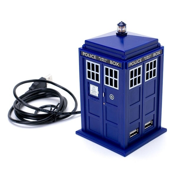 Doctor Who 11th Doctor Tardis 4 Port USB Hub - multi