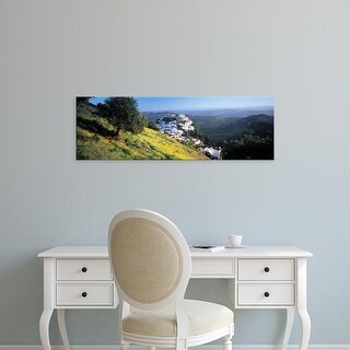 Easy Art Prints Panoramic Images's 'Casares, Spain' Premium Canvas Art