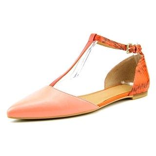 Calvin Klein Ghita Open Toe Leather Sandals