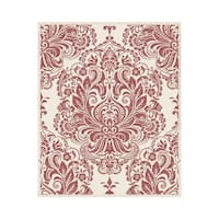 Graham and Brown 20-924 56 Square Foot - Melody Red - Non-Pasted Vinyl Wallpaper - n/a - N/A