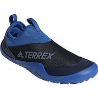 adidas Men's Terrex Climacool Jawpaw II Slip On Water Shoe Blue Beauty/Collegiate Navy/Grey One