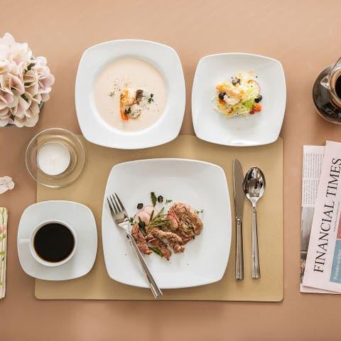 MALACASA Julia 30-Piece Dinnerware Set (Service for 6)