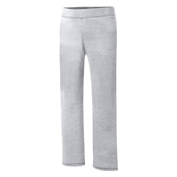Hanes Big Girls ComfortSoft EcoSmart Open Bottom Fleece Sweatpant