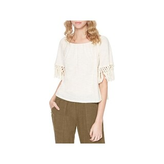 Sanctuary Womens Sedona Blouse Off-the-Shoulder Short Sleeves (5 options available)