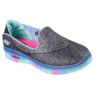 Skechers 81078L BKMT Girl's SKECHERS GO FLEX WALK Sneaker