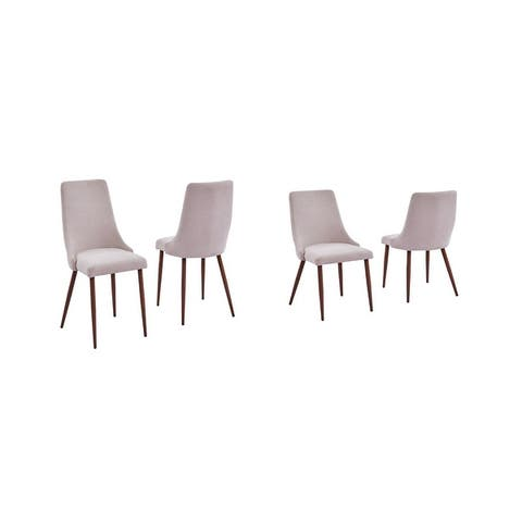 Best Quality Furniture Modern 19-inch Faux Wood Dining Chair