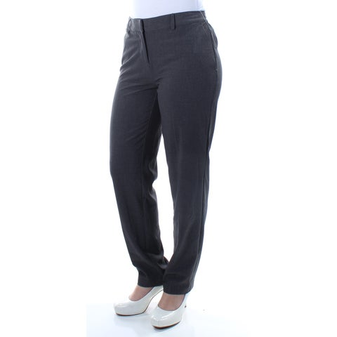 KENSIE Womens Gray Wear To Work Pants Size: XS