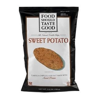 Food Should Taste Good - Sweet Potato Tortilla Chips ( 12 - 5.5 oz bags)