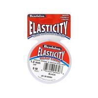 Beadalon Elasticity 1.0mm Black 5M