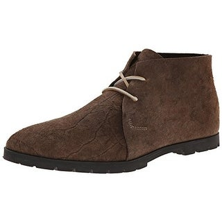 Woolrich Mens Lane Suede Distressed Chukka Boots