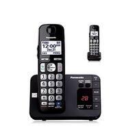 Panasonic KX-TGE232B Cordless Phone w/ DECT 6.0 & 30% More Battery , 2 Handsets