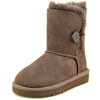Ugg Australia Bailey Button Round Toe Suede Winter Boot