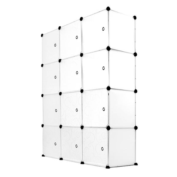 Work-It! 12-Modular Cube Storage Organizer. Opens flyout.