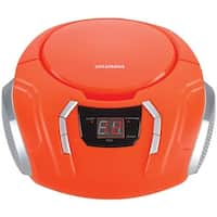 Sylvania Srcd261-B-Orange Portable Cd Players With Am/Fm Radio (Orange)