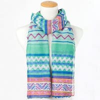 Mad Style Blue Briony Scarf