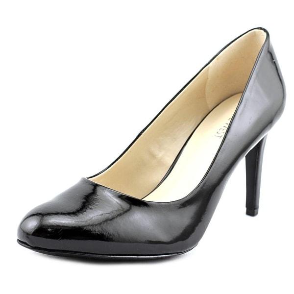 Nine West Handjive Round Toe Synthetic Heels
