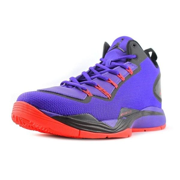 Jordan Super.Fly 2 PO Men Round Toe Synthetic Purple Basketball Shoe