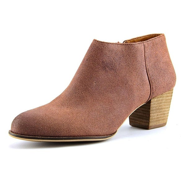 Lucky Brand Tolachina Round Toe Leather Ankle Boot