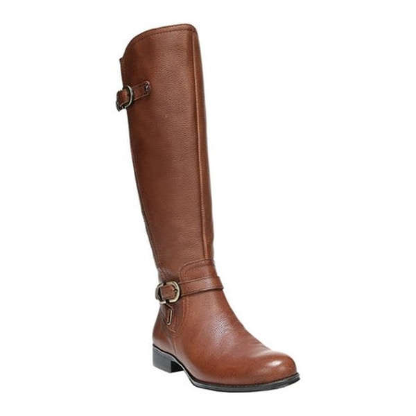 b82b5c58c3b Naturalizer Women  x27 s Jennings Wide Calf Tall Boot Banana Bread Cairo