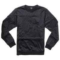 LRG Mens Slacker Crewneck Sweater Sweatshirt - Black