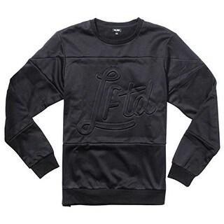 LRG Mens Slacker Crewneck Sweater Sweatshirt - Black