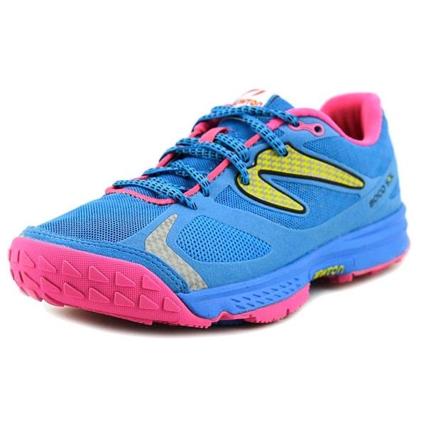 Newton Boco Sol Women Round Toe Synthetic Blue Running Shoe
