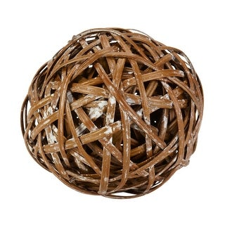 Nearly Natural Decorative Balls - Set of 6 - Brown